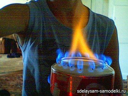 Как сделать горелку своими руками фото