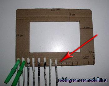 Фоторамки из бумаги своими руками