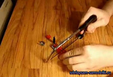 Cамодельная пушка из зажигалки