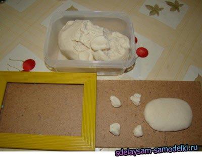 Как сделать поделку из соленого теста