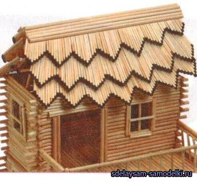 Делаем спичечный домик