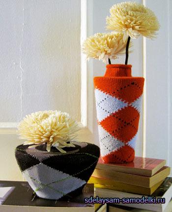 Как чем украсить цветочные горшки своими руками