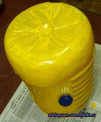 Leitões de garrafas de plástico