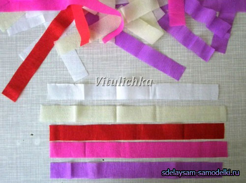 Шар с цветами из бумаги своими руками