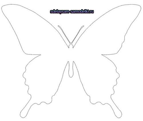 Шаблоны бабочками как сделать 94
