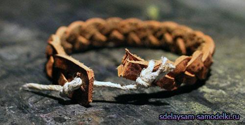 Как сделать браслет из кожи своими руками? 71